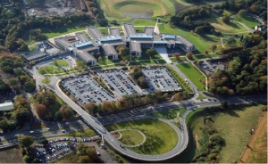 Gogarburn Site -aerial view